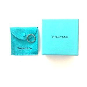 Genuine Tiffany & Co Sterling & Diamond Ring
